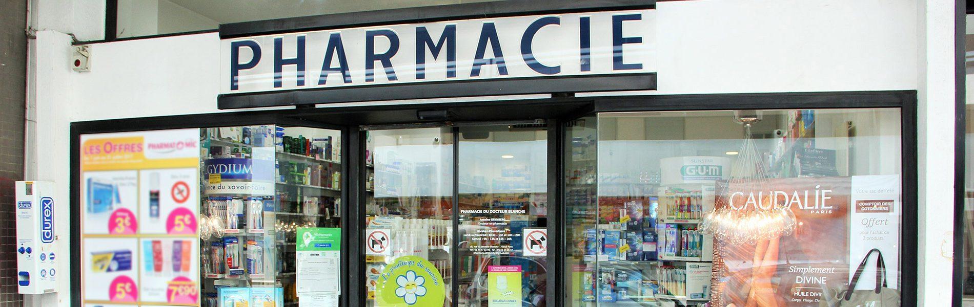 Pharmacie DU DOCTEUR BLANCHE - Image Homepage 1