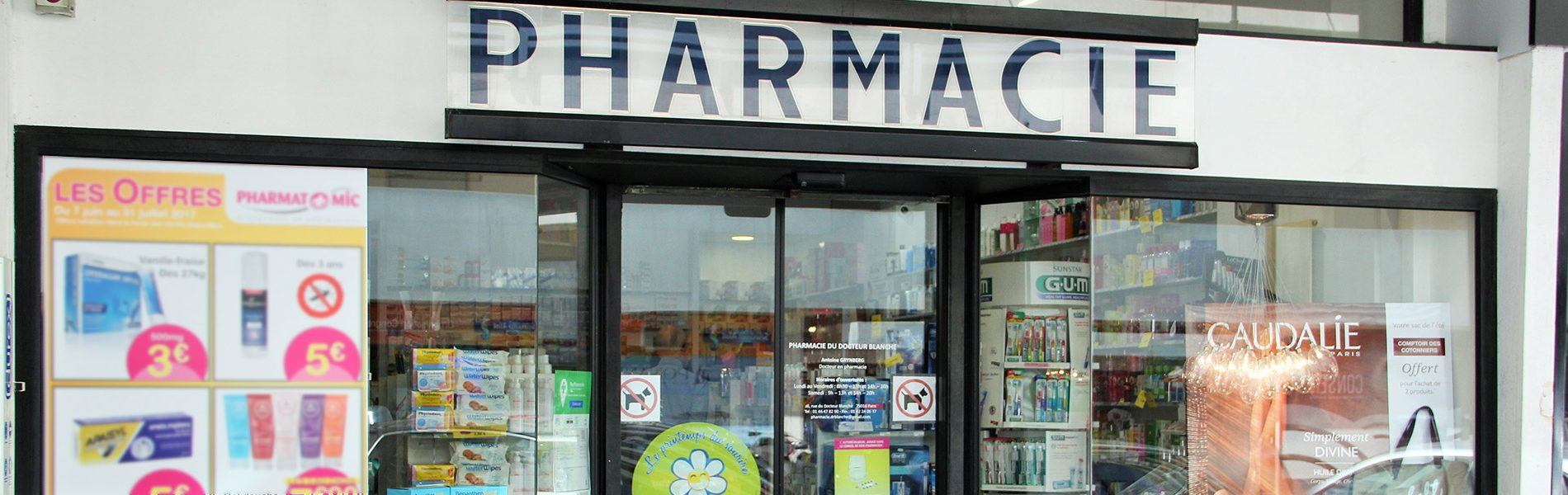 Pharmacie DU DOCTEUR BLANCHE - Image Homepage 2